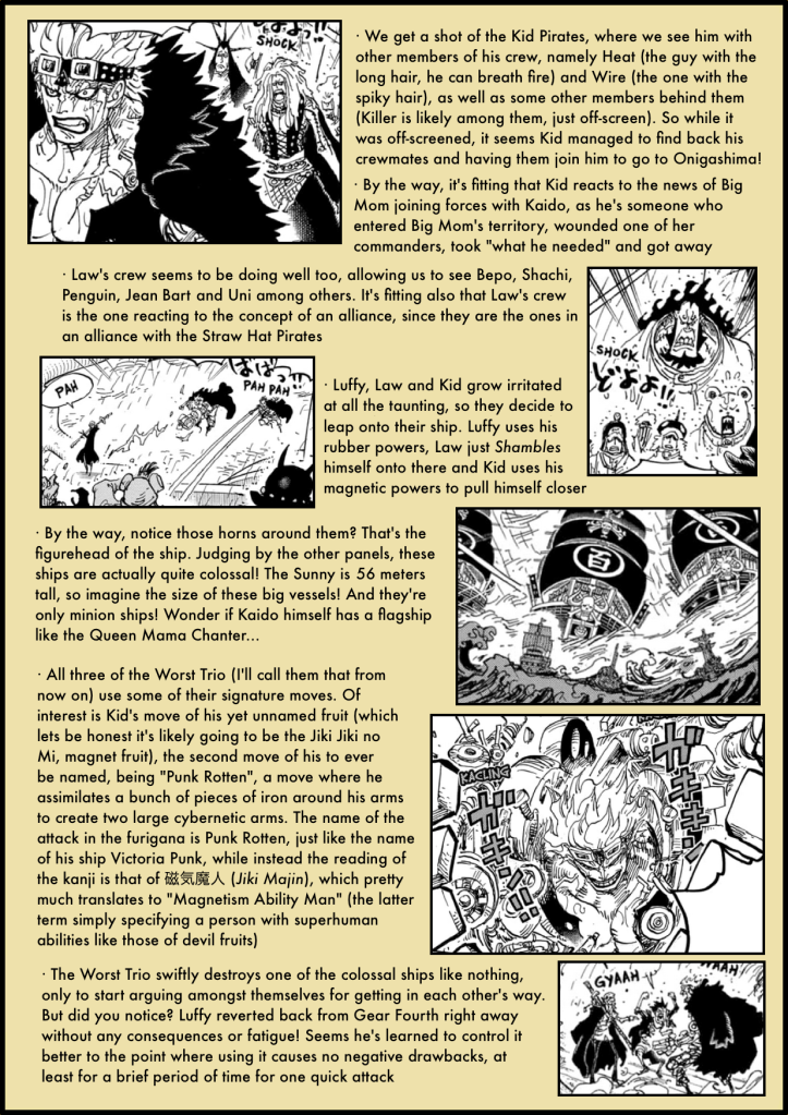 One Piece Chapter 975 analysis 4
