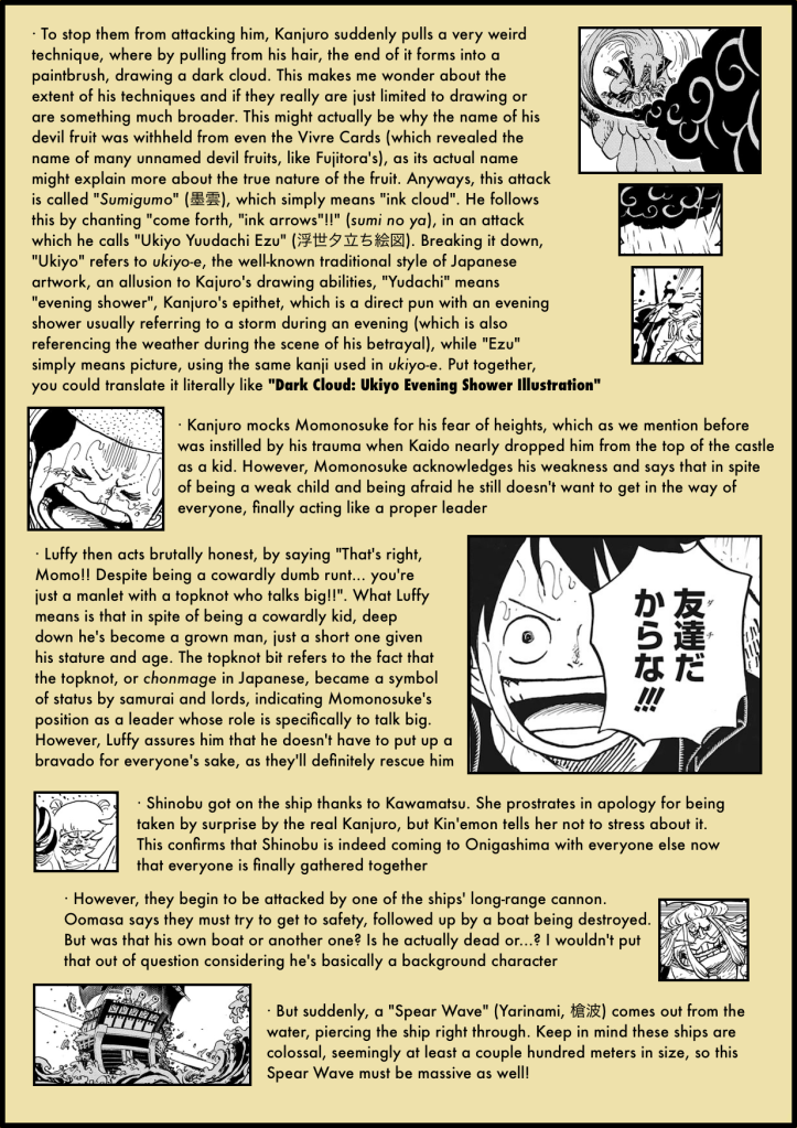 One Piece Chapter 976 analysis 4