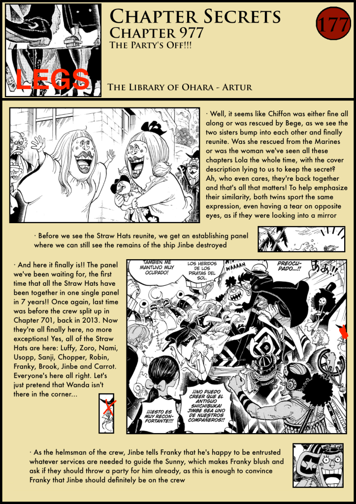 One Piece Chapter 977 analysis 1
