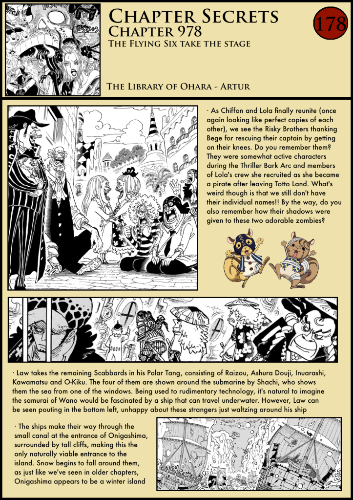 One Piece Chapter 978 analysis 1