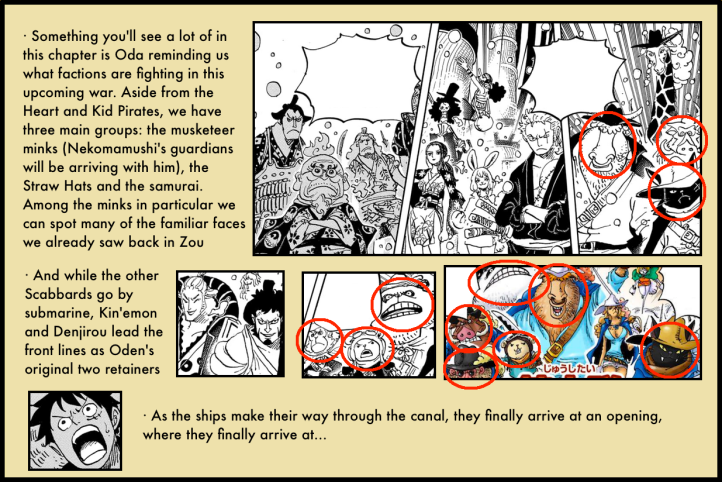 One Piece Chapter 978 analysis 2
