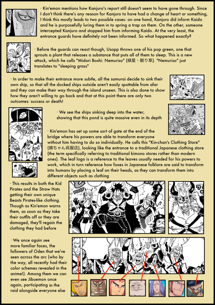 One Piece Chapter 978 analysis 5