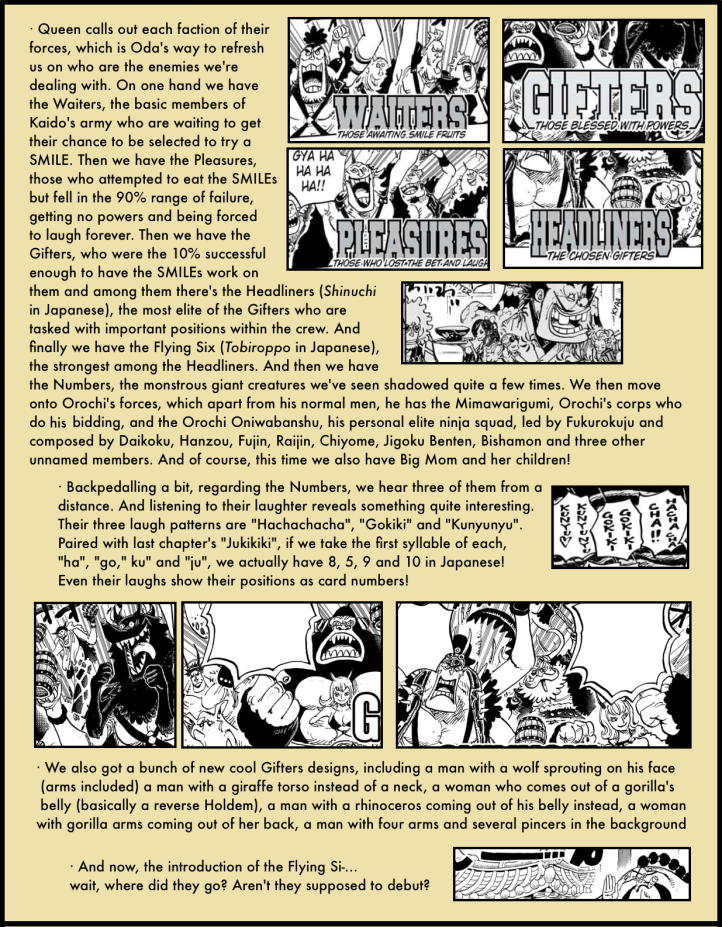One Piece Chapter 978 analysis 7