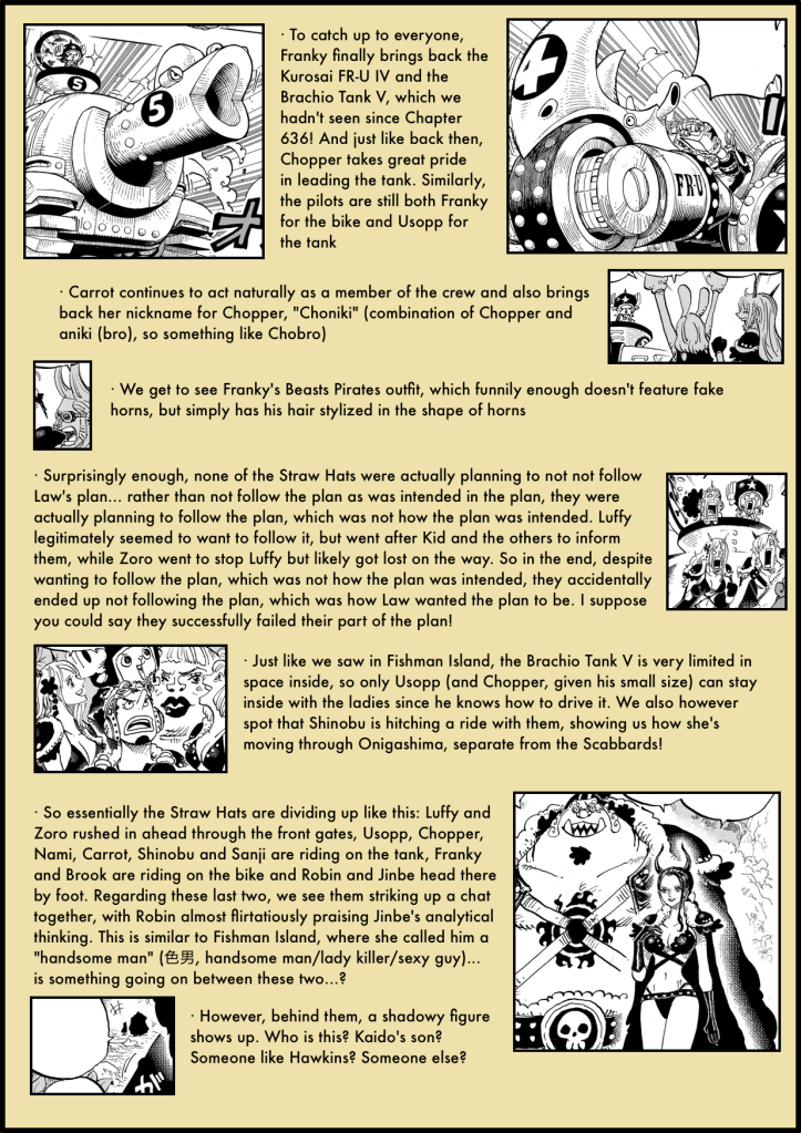 One Piece Chapter 979 analysis 3