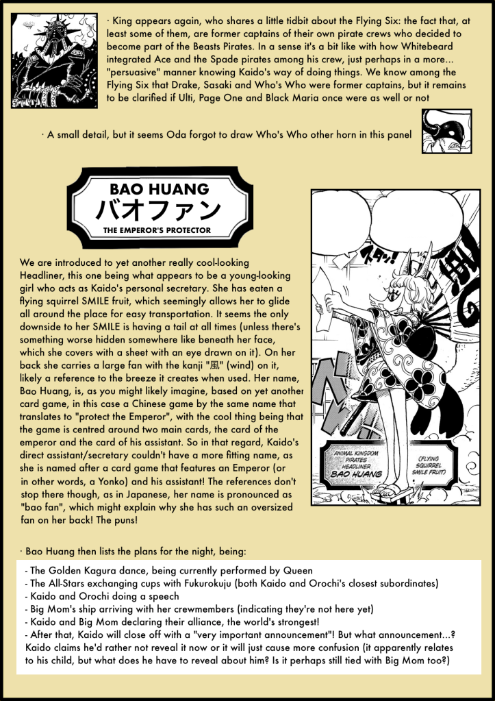 One Piece Chapter 979 analysis 5