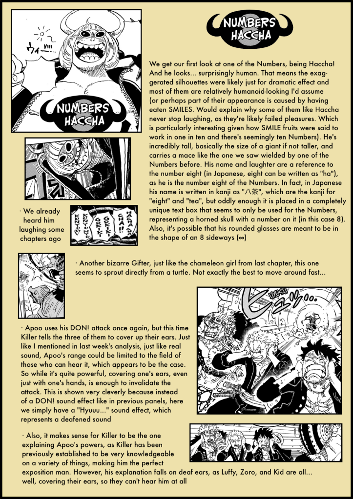 One Piece Chapter 981 analysis 3