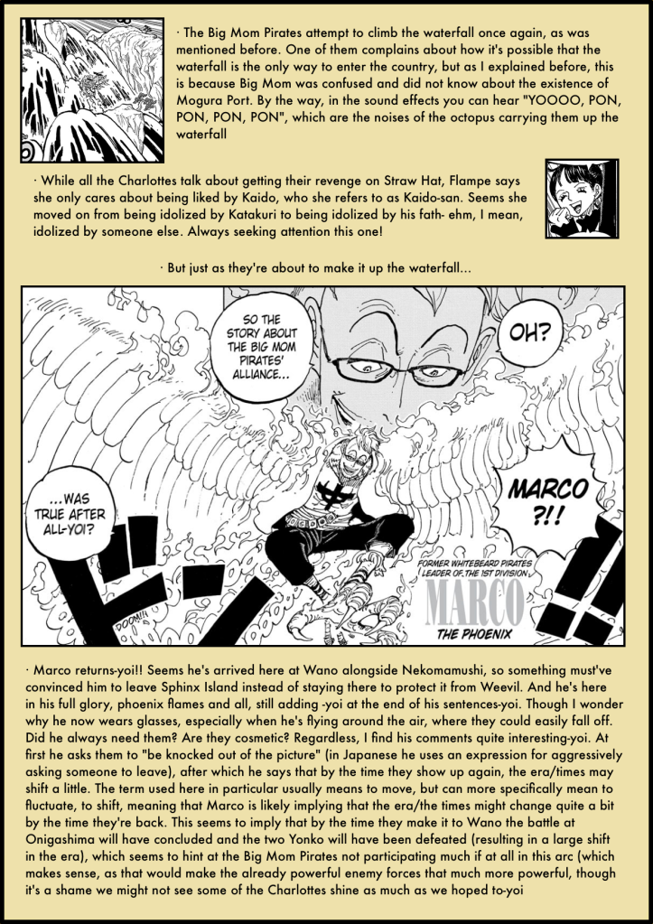 One Piece Chapter 981 analysis 6