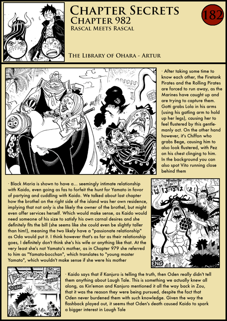 One Piece Chapter 982 analysis 1