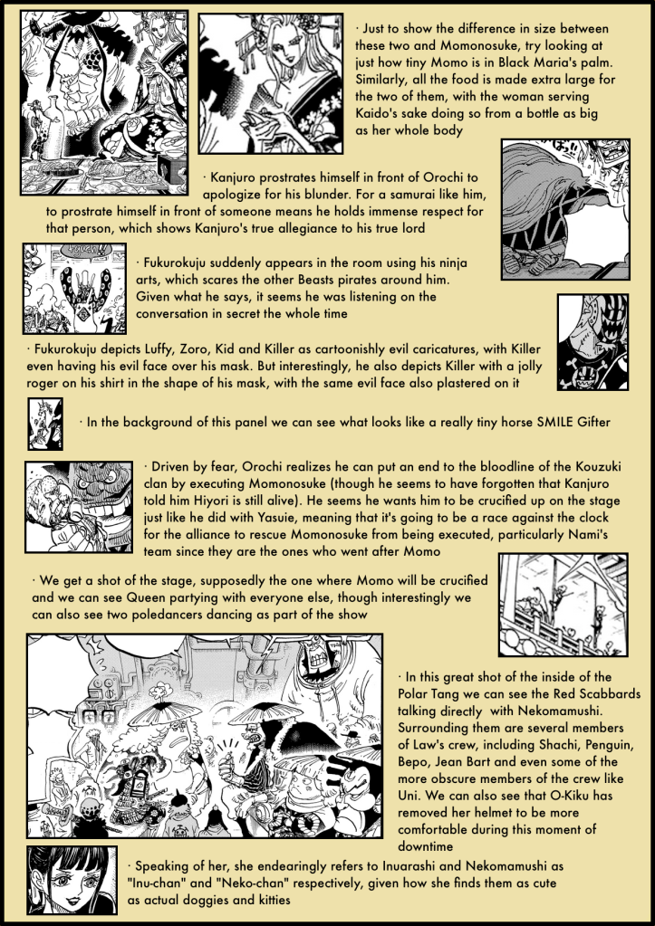 One Piece Chapter 982 analysis 2