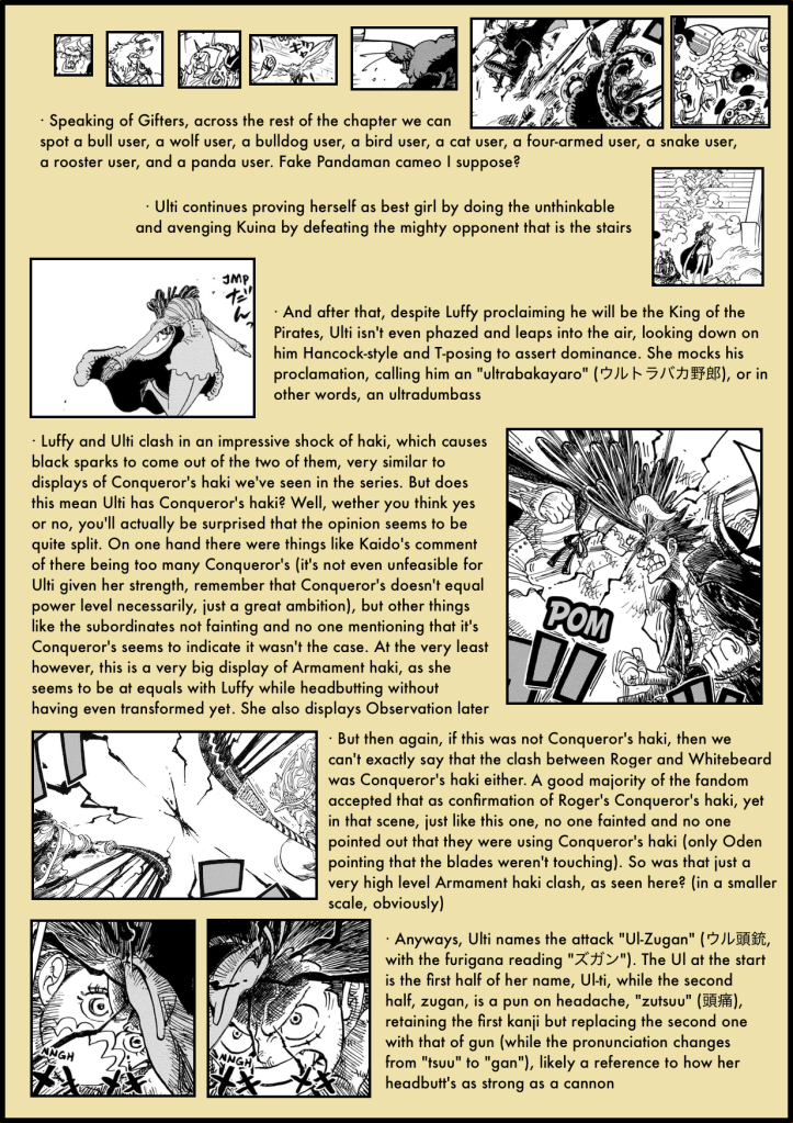 One Piece Chapter 983 analysis 3