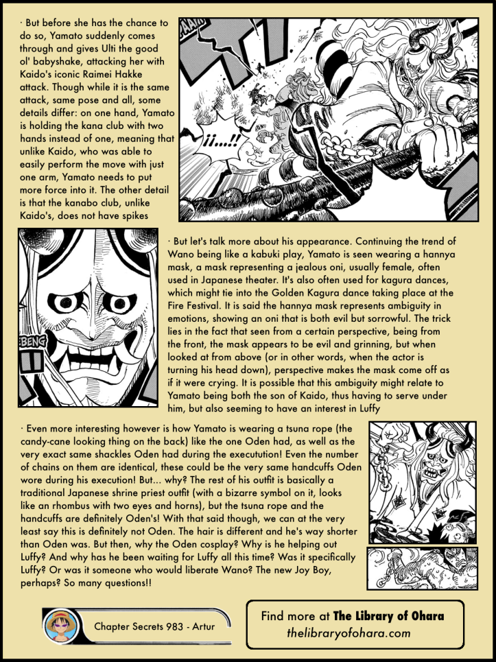 One Piece Chapter 983 analysis 5