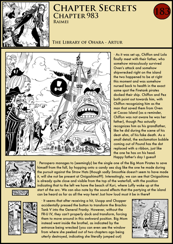 One Piece Chapter 983 analysis Ulti