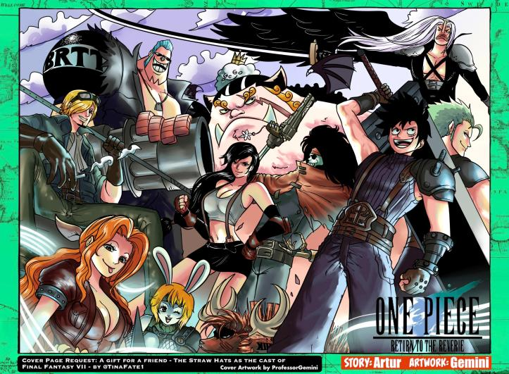 Return to the Reverie - Chapter 6 Cover One Piece Final Fantasy VII