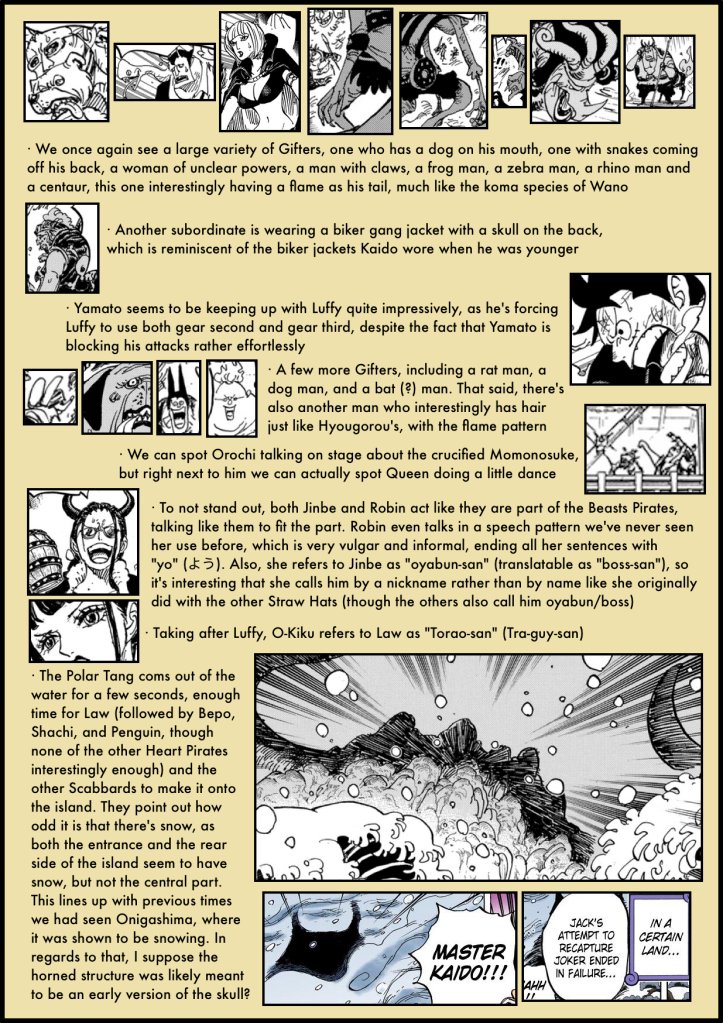 One Piece Chapter 984 analysis 2