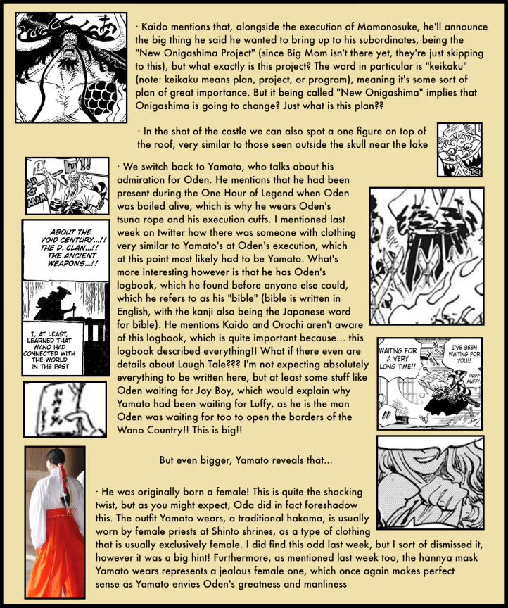 One Piece Chapter 984 analysis 4