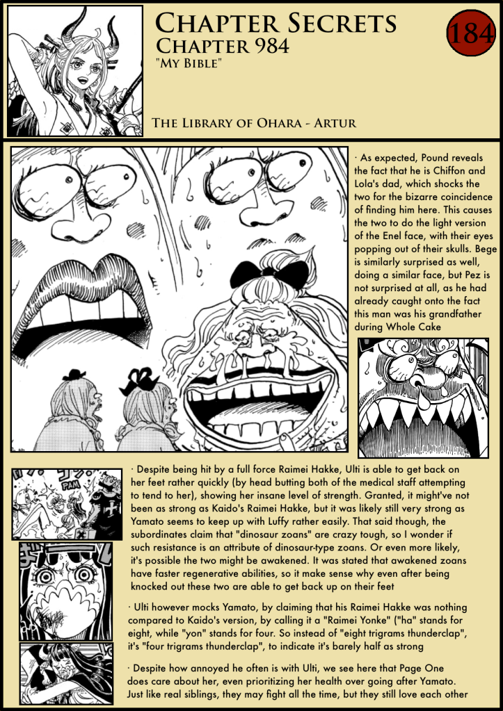 One Piece Chapter 984 in-depth analysis 1