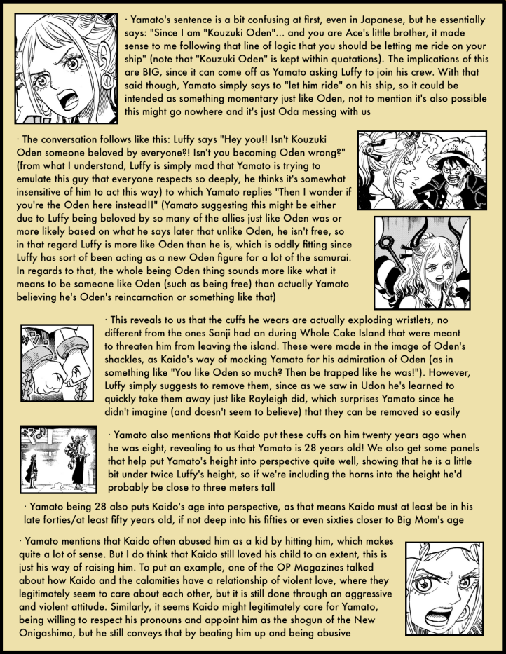 One Piece Chapter 985 in-depth analysis 3