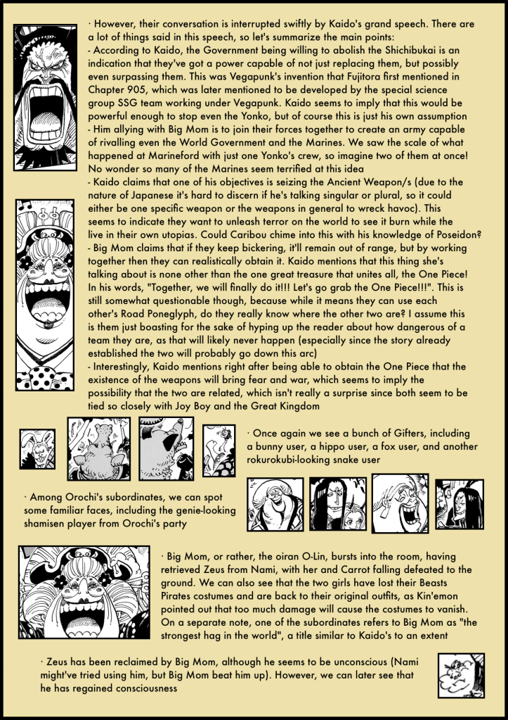 One Piece Chapter 985 in-depth analysis 4