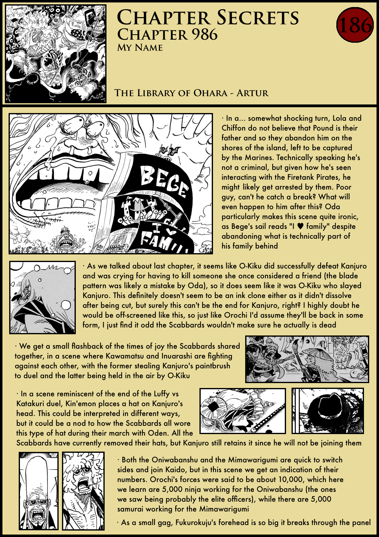 Chapter Secrets Chapter 986 In Depth Analysis The Library Of Ohara