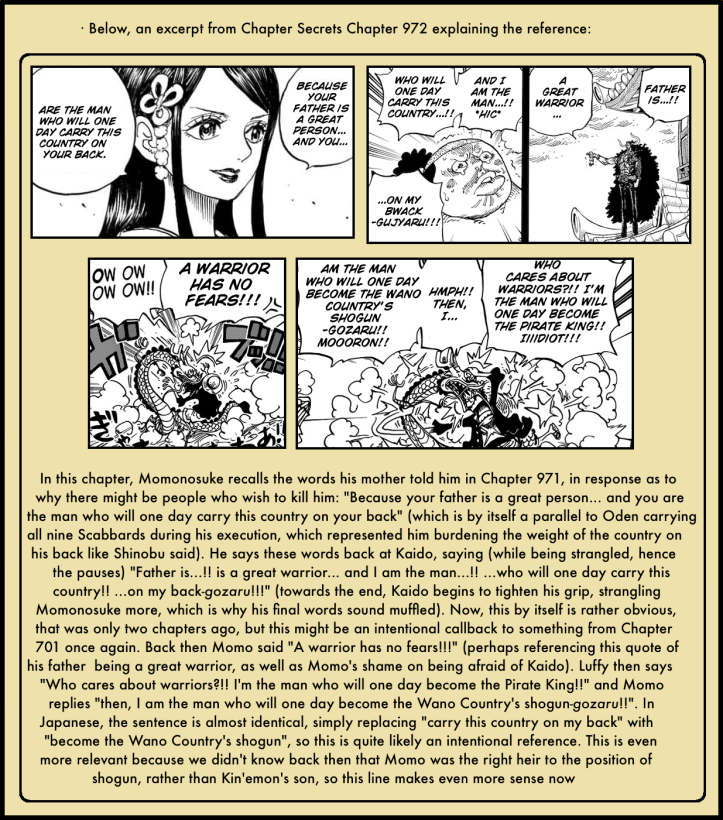 One Piece Chapter 986 in-depth analysis 4