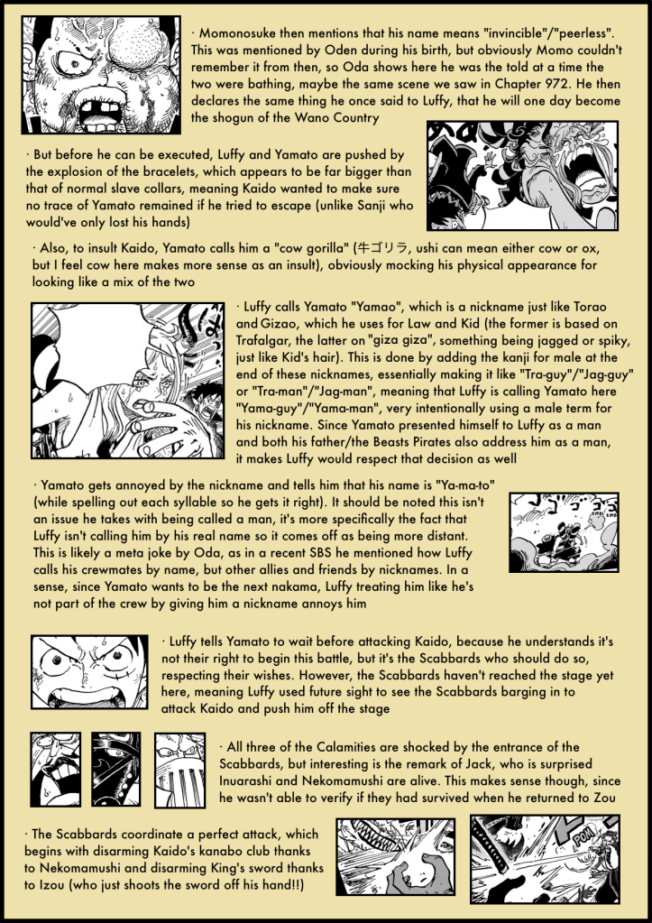 One Piece Chapter 986 in-depth analysis 5 copy