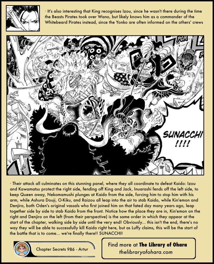 One Piece Chapter 986 in-depth analysis 6