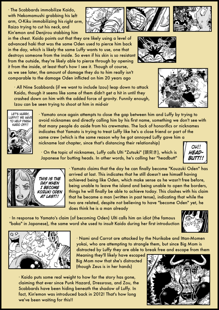 One Piece Chapter 987 in-depth analysis 2