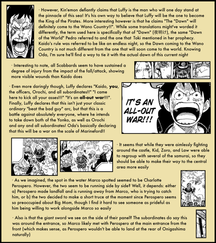 One Piece Chapter 987 in-depth analysis 3