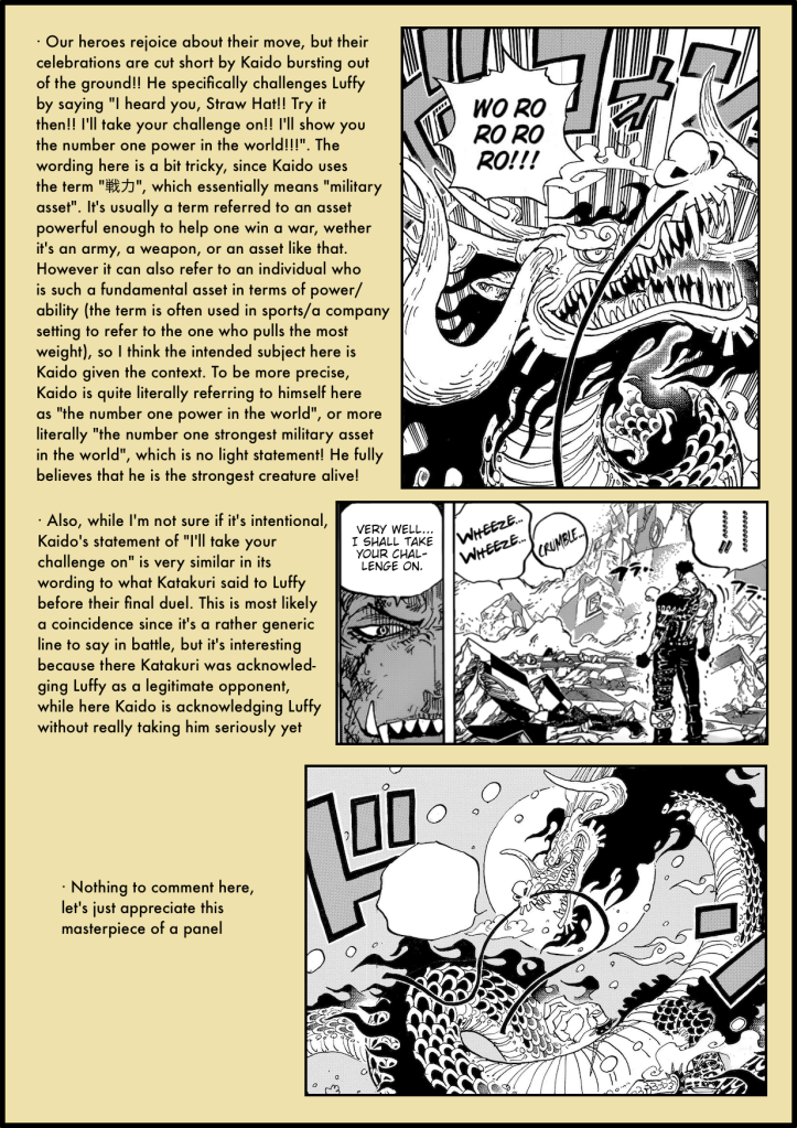 One Piece Chapter 987 in-depth analysis 4
