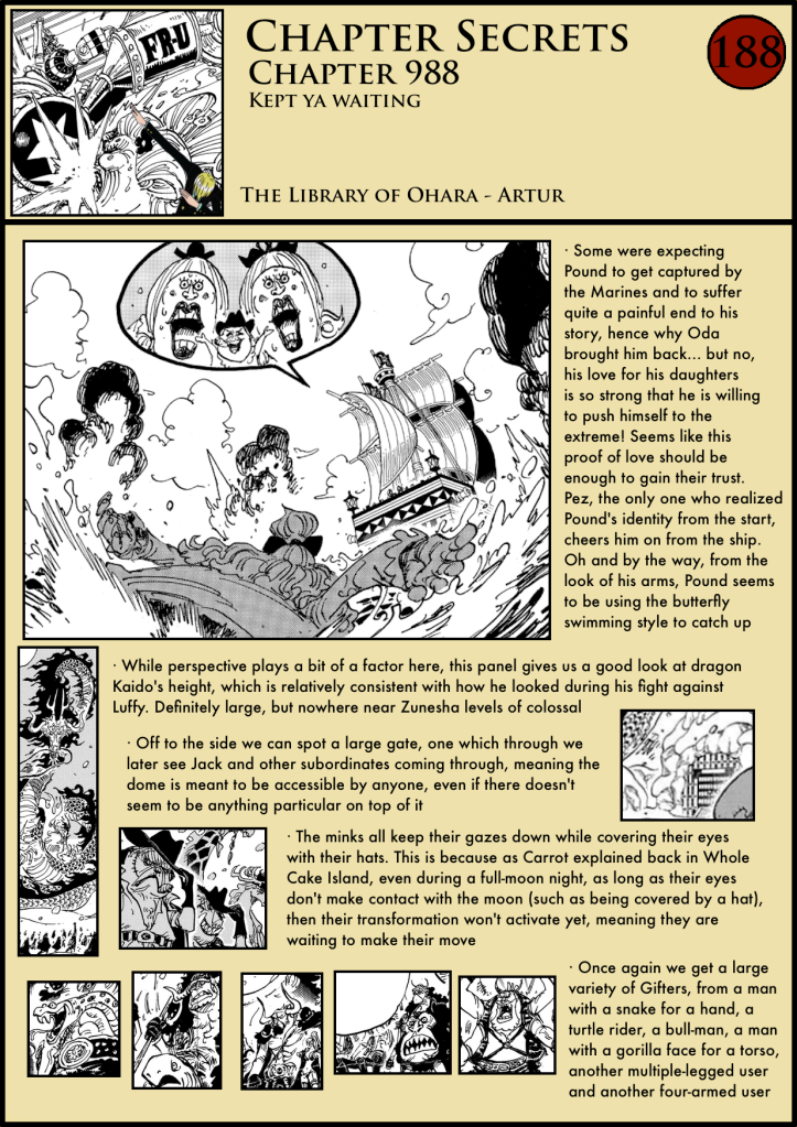 One Piece Chapter 988 in-depth analysis 1