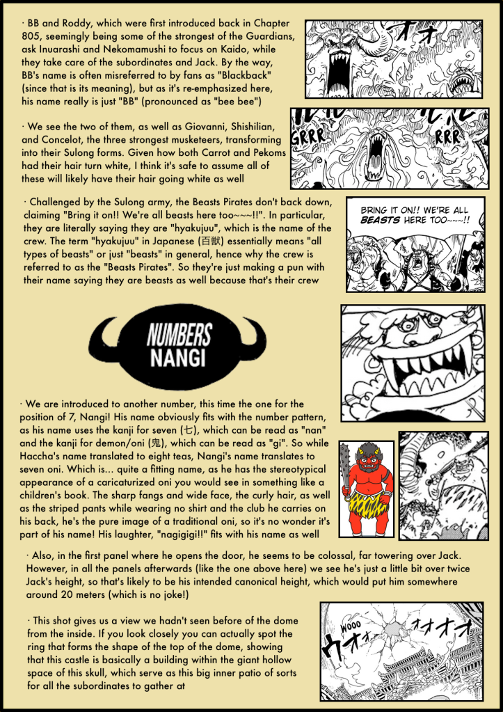 One Piece Chapter 988 in-depth analysis 2
