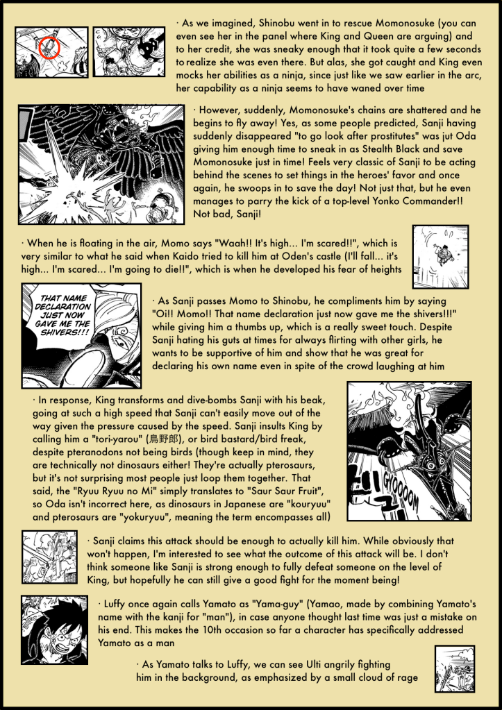 One Piece Chapter 988 in-depth analysis 3