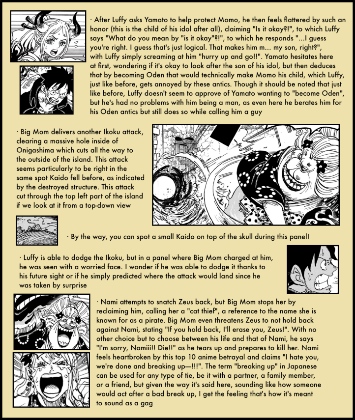 One Piece Chapter 988 in-depth analysis 4