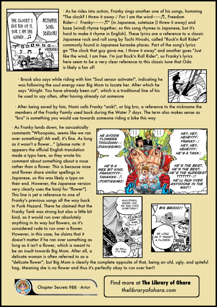 One Piece Chapter 988 in-depth analysis 5
